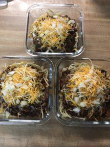 instant pot skyline chili meal prep