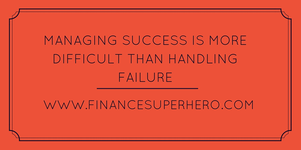 Managing the Cycle of Failure and Success