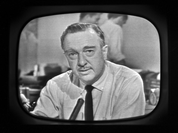 Today's media is a far cry from the days of Walter Cronkite.