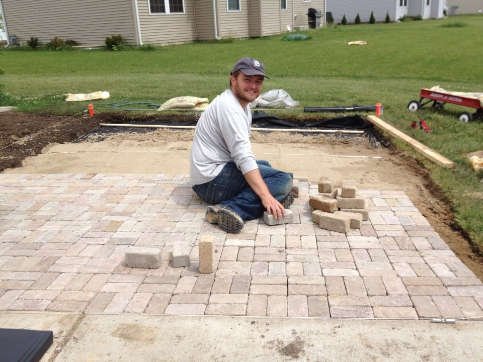 How to Build A Paver Patio - A Comprehensive Step By Step ... on Build Backyard Patio id=19541