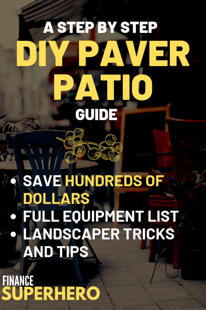 If you're looking to expand your outdoor living space and add value to your home, a DIY paver patio project is a smart move! We'll show you how to start build your own paver patio from start to finish, even if you aren't handy and have no experience. Trust us, it's easier than you may think.
