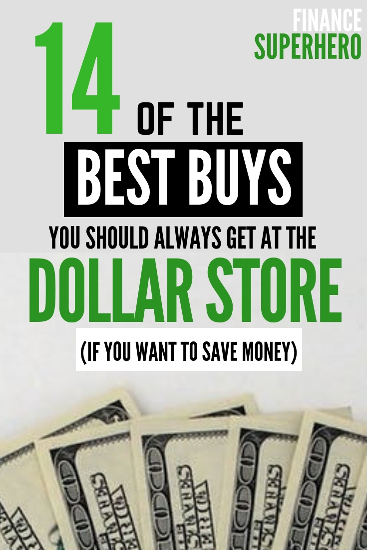 Shopping for the right items at the dollar store is one of the easiest ways to save money and stick to your budget. Check out these 14 items that are almost always cheaper - without sacrificing quality - at the dollar store today!