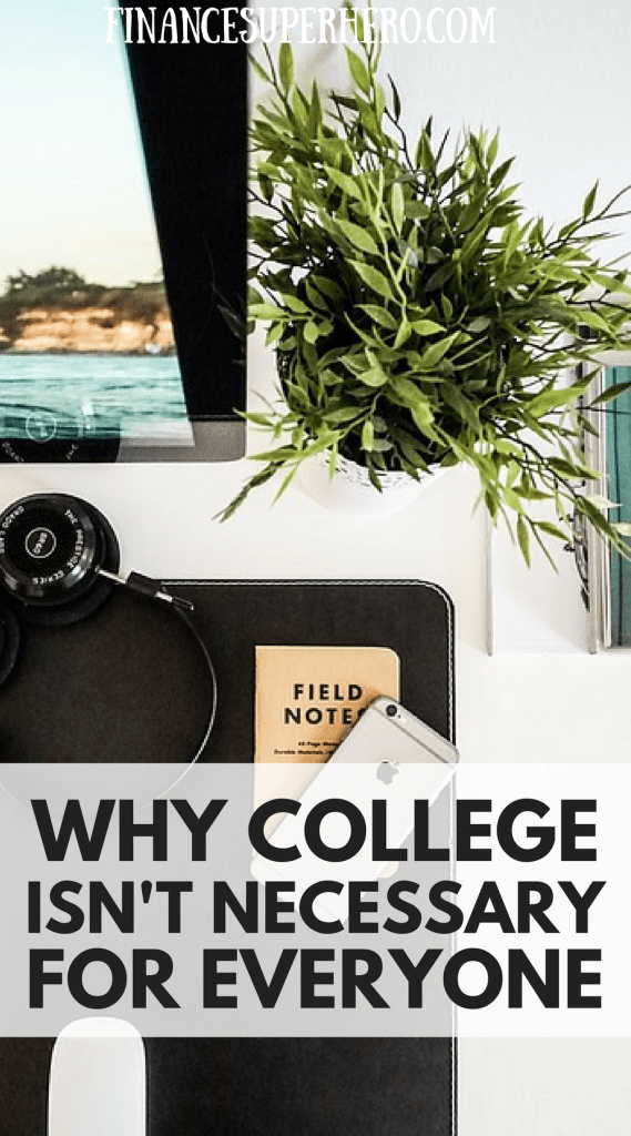 """The """"college or bust"""" mentality misleads students, disrespects skilled trades, and promotes a dangerous lie: college isn't for everyone."""