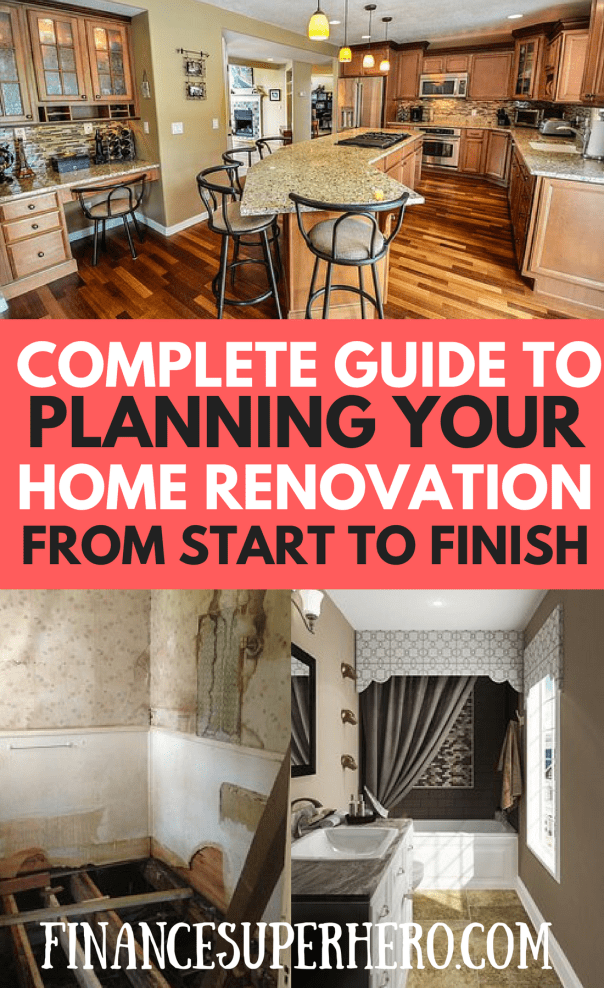 A guide to planning a home renovation from start to finish for How to start renovating a house