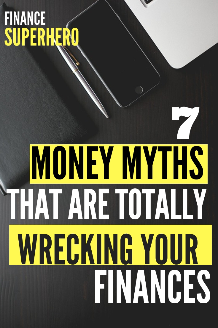 It's important to get your financial advice from a trustworthy source, not well-meaning friends and family. Make sure you're not falling for these harmful money myths that have the potential to ruin your budget! #budgeting #moneytips #budgettips #personalfinancetips