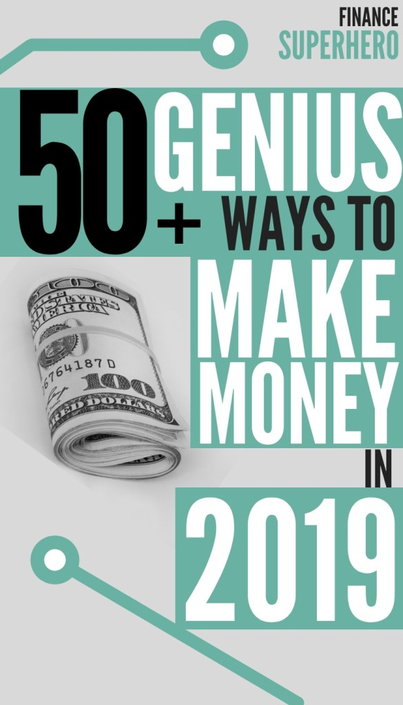 50+ Epic Ways to Make Extra Money This Year - Finance Superhero