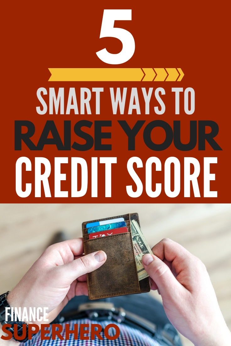Ever wondered what is considered a good credit score? Do you have a low credit score that you'd like to raise? This post has all the answers when it comes to credit scores. The 5 tips at the end will help you raise your credit score without paying any credit repair companies or taking on new debt.