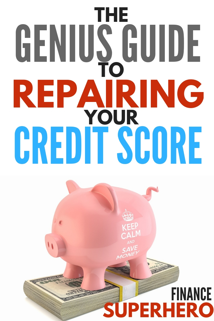 Looking for ways to improve your credit score? This guide will show you 5 simple steps to repair your credit score and improve your finances.