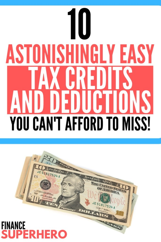Tax Deductions Guide and Popular Credits for 2019 - Finance