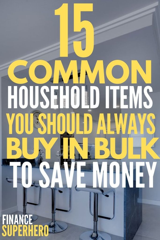 If you're trying to save money, buying in bulk is a really smart strategy! It will help you save time, never run out of the items you need, and get the best deals on products for your family.
