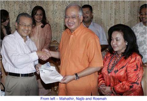 Mahathir Najib Rosmah