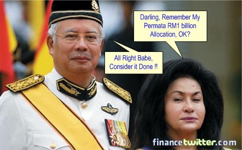 Budget 2013 - Rosmah Permata RM1 Billion Allocation