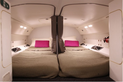 Secret Revealed - Crew Rest Area - Pilot Luxury Private Beds