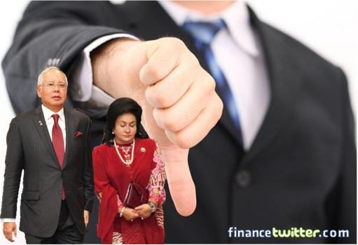 Image result for Najib Razak and Rosmah Mansor