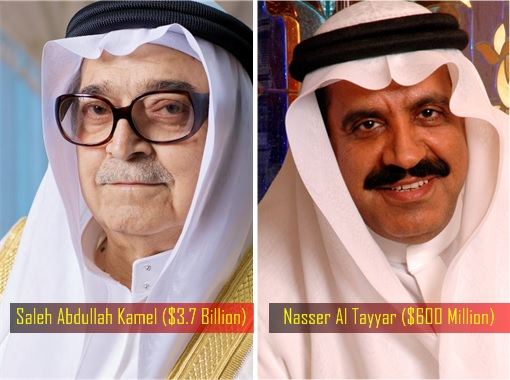 Saudi Businessmen Arrested - Saleh Abdullah Kamel and Nasser Al Tayyar