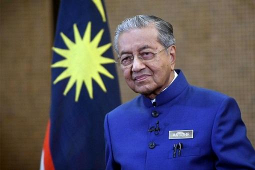 Mahathir Mohamad - Blue Suit 2