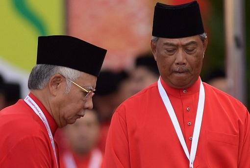 UMNO - Muhyddin Yassin and Najib Razak