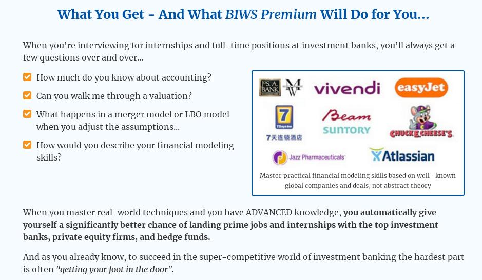 Financial modeling courses get an extra edge today biws premium fandeluxe Images