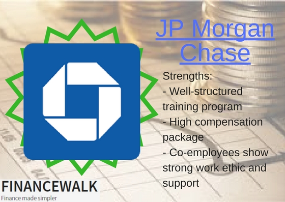 JP Morgan Chase Top Employer
