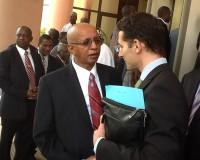 Ministre de l'environnement du Mali et représentant de la Suisse