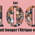 Les 100 qui ont fait bouger l'Afrique en 2015 (liste)