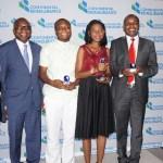 Lauréats du Journalism Awards 2016 dans le domaine de l'assurance-réassurance panafricaine