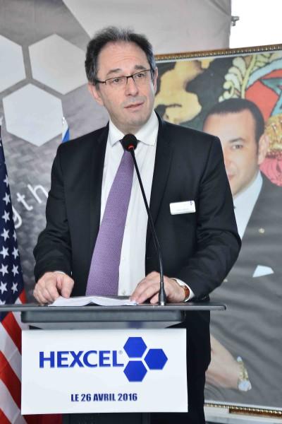 M. Thierry Merlot, Vice-Président et DG d'Hexcel