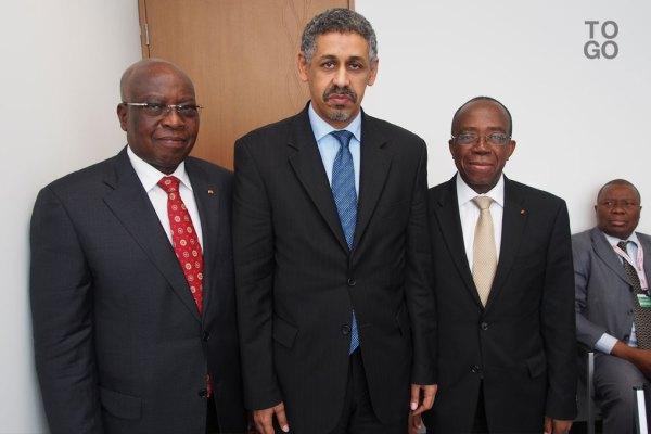 Adji Otèth Ayassor, Sidi Ould Tah et Kossi Assimaïdou