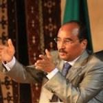 Entretien avec le prèsident Mohamed Ould Abdel Aziz de Mauritanie