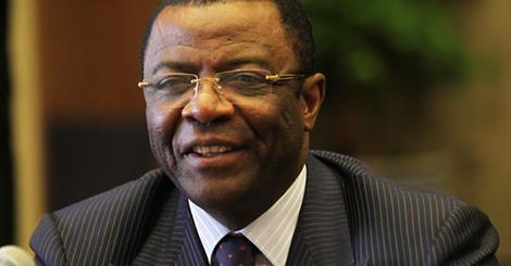 Edgard Alain Mebe Ngo'o, ministre des Transport