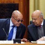 """Afrique du Sud: Jacob Zuma """"soutient"""" son ministre des finances"""