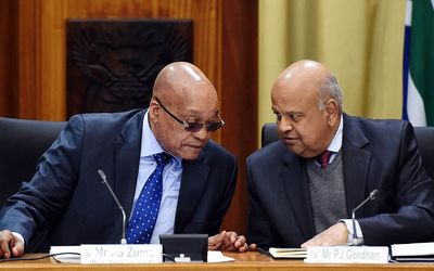 Jacob+Zuma+and++Pravin+Gordhan+May+10+2016