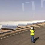 Dans les entrailles de la plus grande centrale solaire du monde