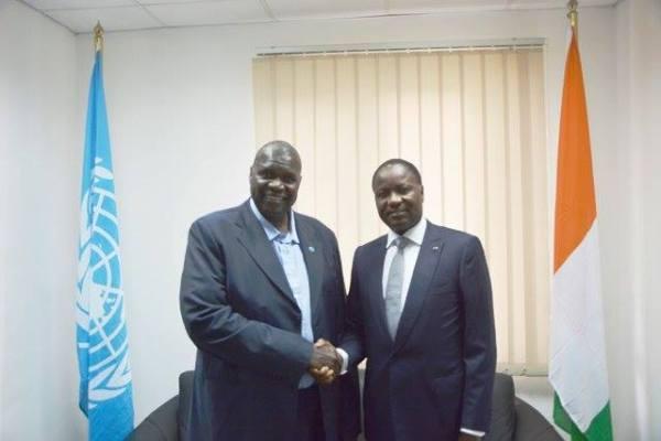 sous-dg-afrique-fao-bukar-tijani-accueille-au-bureau-regional-fao-afrique-mamadou-sangafowa-coulibaly-minister-agriculturerural-development-president-29e-conference-regionale-fao-pour-lafriqu