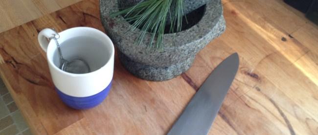 White Pine Needle Tea