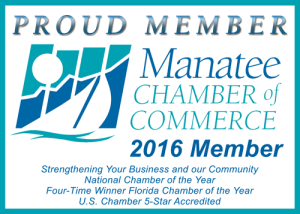Proud Member of Manatee Chamber of Commerce