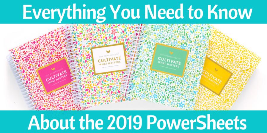 PowerSheets | Goal Setting | Planner