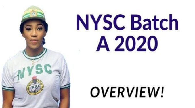 NYSC Batch A
