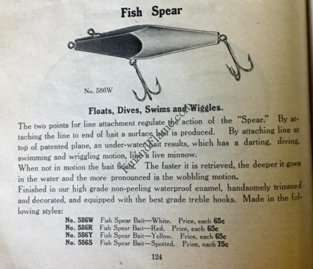 Moonlight Fish Spear Lure Ad