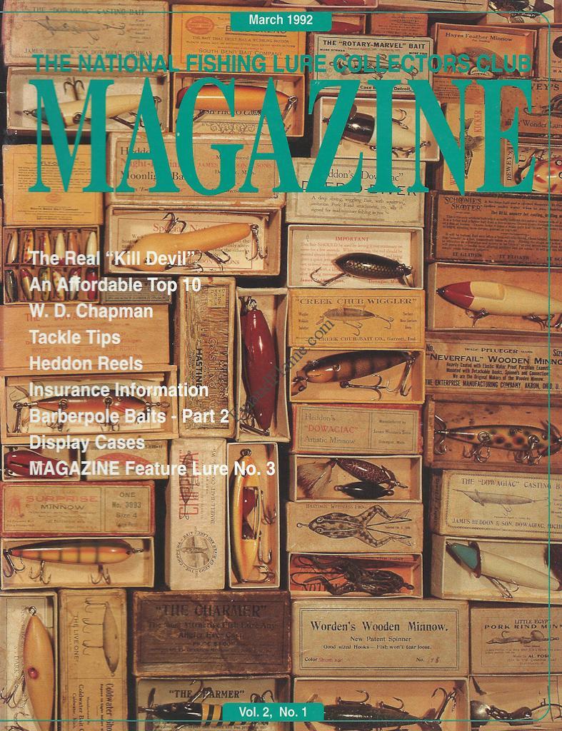 NFLCC Magazine Article Index 1992 Vol 2 Issue 1