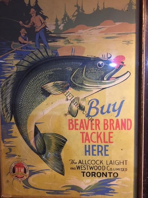 AL&W Lure Company Sign