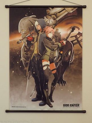 God Eater Resurrection - Souma Schicksal & Protagonist - God Eater Resurrection wall scroll