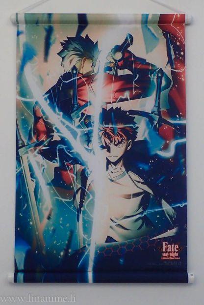 Fate/Stay Night - Shirou & Archer - wall scroll