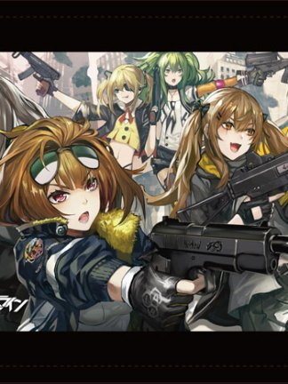 Girls' Frontline 10 Elite Dolls - Girls' Frontline wall scroll