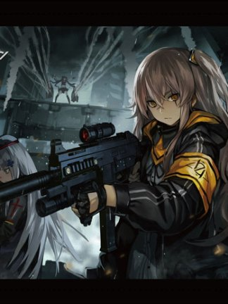 Girls' Frontline 4 Operation CUBE - Girls' Frontline wall scroll