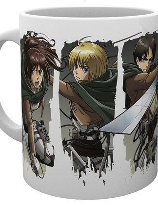 Attack on Titan - Attack on Titan Season 2 Mug Character Montage