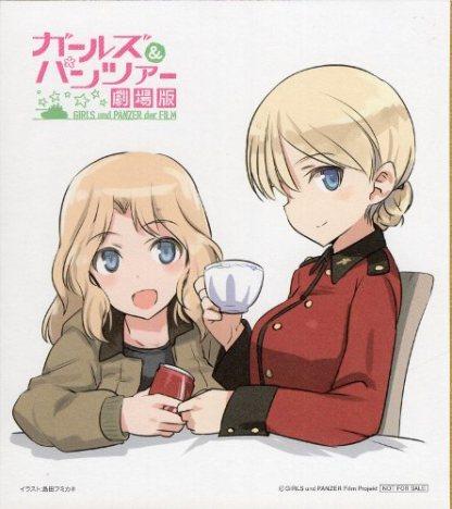 Girls und Panzer movie ver - Miho Nishizumi shikishi