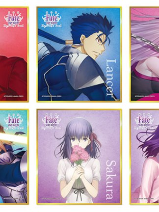Fate/Stay Night shikishi-gacha - Fate/stay night shikishi