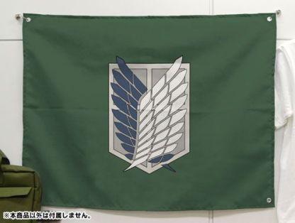 attack on titan flag