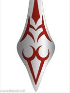 Fate/Stay Night - Saber, Zipper Charm - key chain